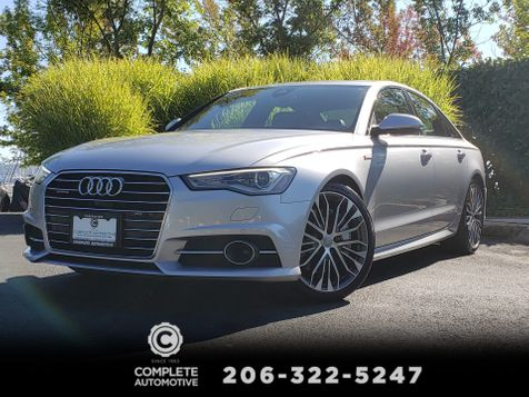 2016 Audi A6 3.0T Premium Plus Quattro  Driver Assist S-Line Sport Cold Weather Bose 20