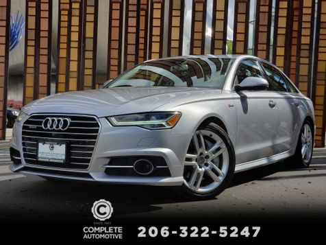 2016 Audi A6 3.0T Quattro Premium Plus Driver Assist S-Line Sport Bose Warm/Cold Package in Seattle