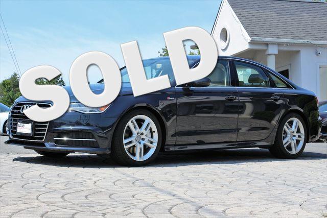 2016 Audi A6 3.0T Quattro Premium Plus S Line Sport PKG in Alexandria VA