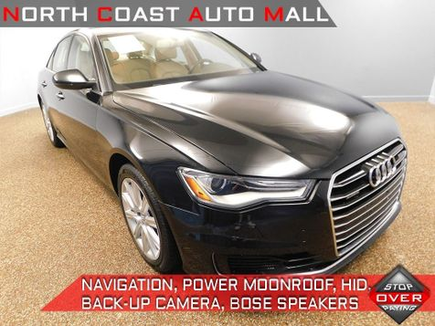 2016 Audi A6 2.0T Premium Plus in Bedford, Ohio