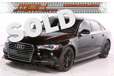2016 Audi A6 2.0T Premium Plus - S-Line Sports pkg - Navigation in Los Angeles