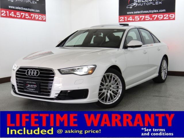 2016 Audi A6 2.0T Premium, NAV, LEATHER SEATS, SUNROOF
