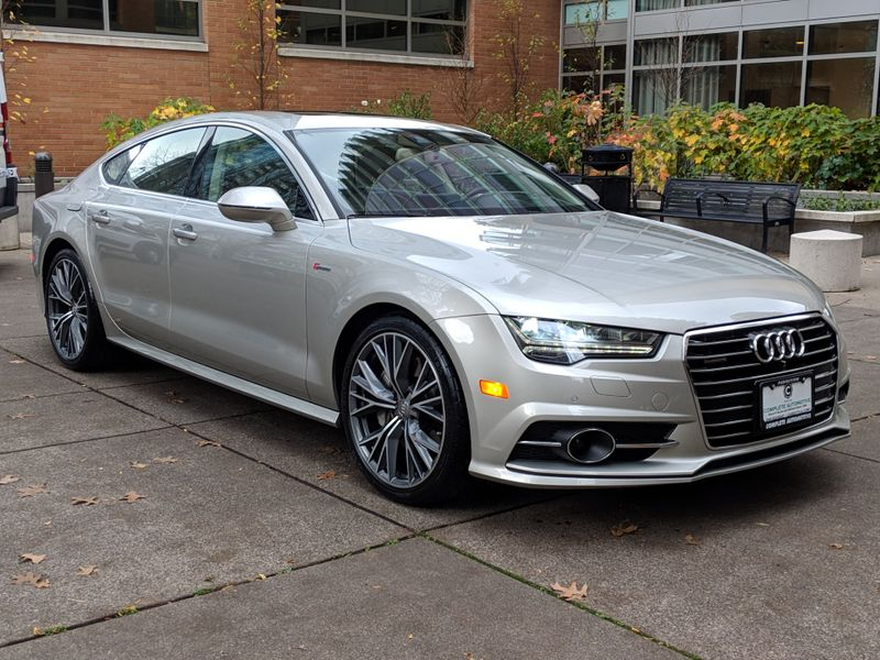 2016 Audi A7 30T Prestige Quattro V6 333HP MSRP 81750 Driver Assist S-Line Sport Comfort Seating Package  city Washington  Complete Automotive  in Seattle, Washington
