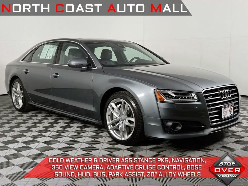 2016 Audi A8 L 40T Sport  city Ohio  North Coast Auto Mall of Cleveland  in Cleveland, Ohio