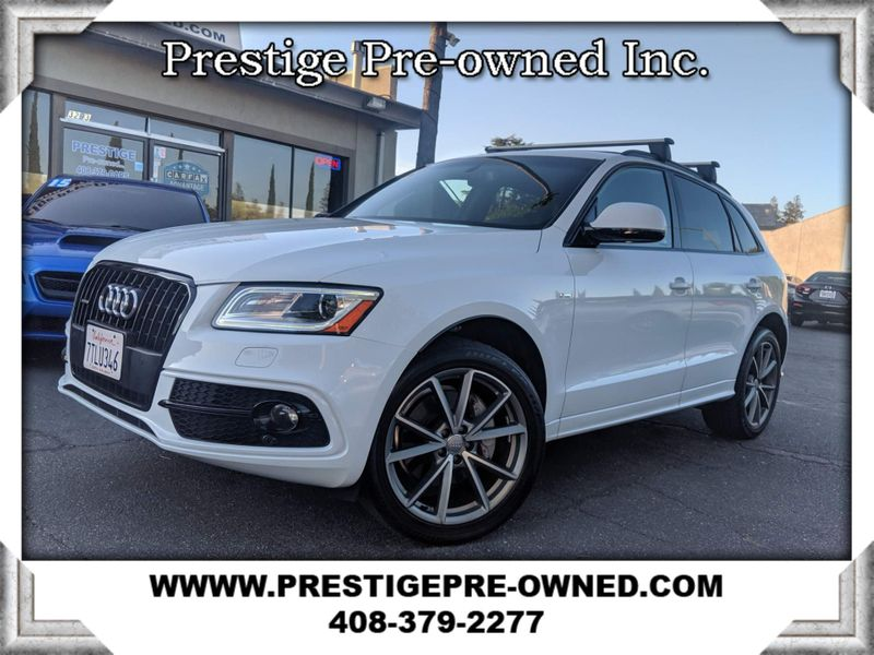 2016 Audi Q5 RARE Find Blk optics PREMIUM PLUS S-LINE ((**AWD//BLACK OPTICS**))  in Campbell CA