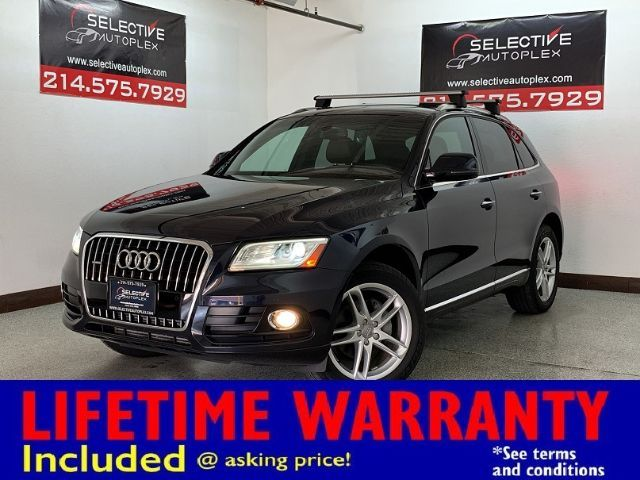 2016 Audi Q5 Premium Plus, NAV, SUNROOF, BLIND SPOT, LEATHER