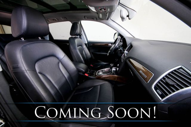 2016 Audi Q5 Premium Plus Quattro Luxury SUV w/ Nav, Backup Cam, Heated Seats & Panoramic Roof in Eau Claire, Wisconsin 54703