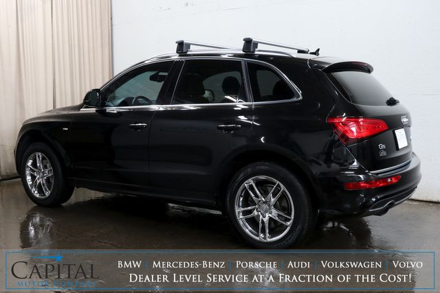 2016 Audi Q5 Prestige 3.0T Quattro AWD Luxury Crossover with Technology Pkg, B&O Premium Audio & Climate Seats in Eau Claire, Wisconsin 54703