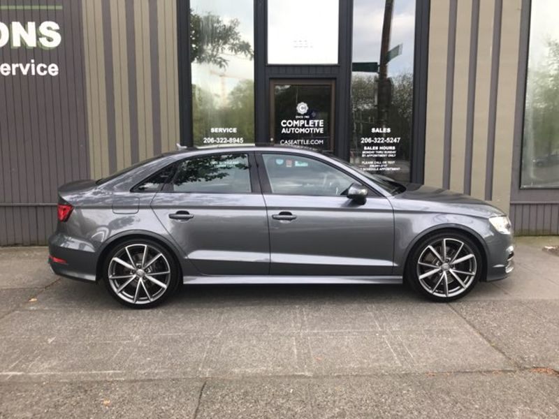 2016 Audi S3 20T Quattro Premium Plus 292 HP Performance Tech Packages Navi Rear Camera BO Sound  city Washington  Complete Automotive  in Seattle, Washington