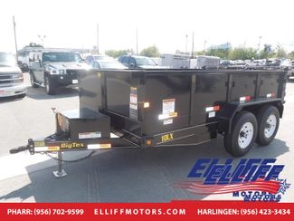 2018 Big Tex 10LX Tandem Axle Low Profile Extra Wide Dump in Harlingen, TX 78550