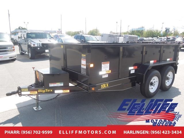 2018 Big Tex 10LX Tandem Axle Low Profile Extra Wide Dump