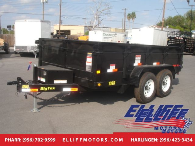 2018 Big Tex 10SR 12FT Tandem Axle Single Ram Dump