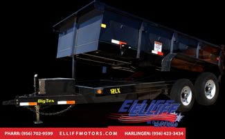 2018 Big Tex 12LX 12FT Tandem Axle Low Profile Extra Wide Dump in Harlingen, TX 78550