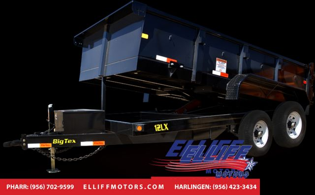 2018 Big Tex 12LX 12FT Tandem Axle Low Profile Extra Wide Dump