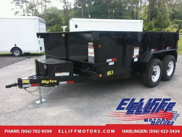 2018 Big Tex 12LX Tandem Axle Low Profile Extra Wide Dump