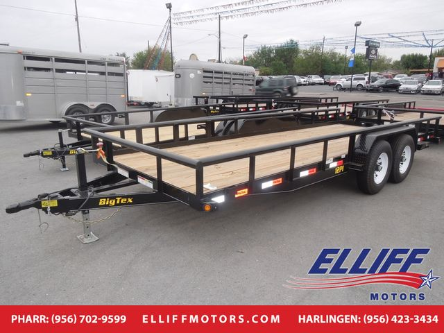 2018 Big Tex 12PI 16FT Heavy Duty Pipe Tandem Axle