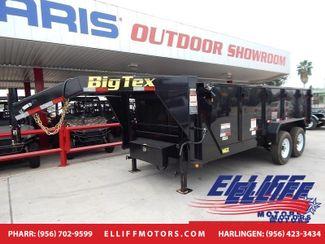 2018 Big Tex 14GX Heavy Duty Tandem Axle Extra Wide Gooseneck Dump in Harlingen TX, 78550