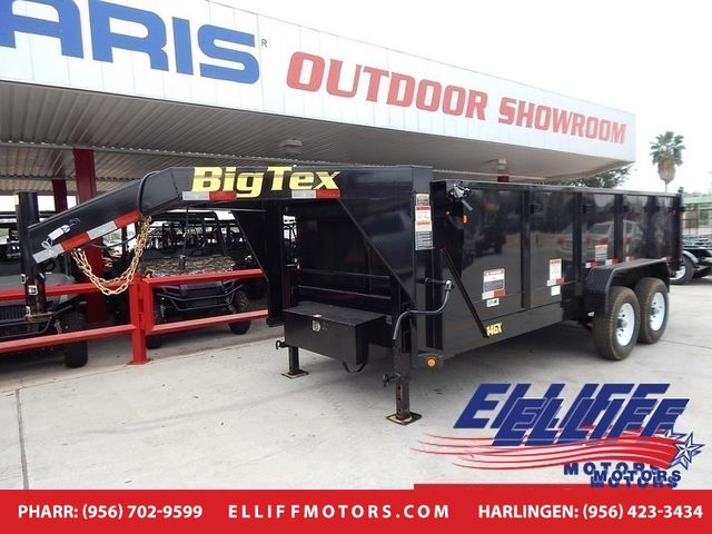 2018 Big Tex 14GX Heavy Duty Tandem Axle Extra Wide Gooseneck Dump