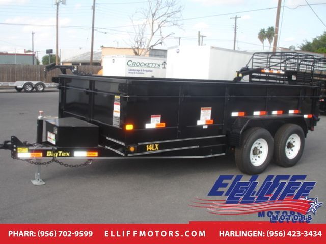 2017 Big Tex 14LX Tandem Axle Low Profile Extra Wide Dump