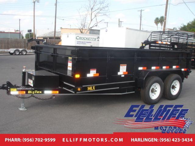 2019 Big Tex 14LX Tandem Axle Low Profile Extra Wide Dump