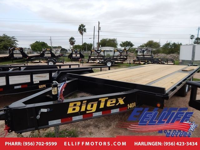 2018 Big Tex 14OA Tandem Axle Over The Axle