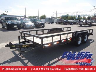 2018 Big Tex 14PI 16FT Heavy Duty Pipe Tandem Axle in Harlingen TX, 78550