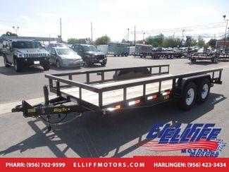 2017 Big Tex 14PI 18FT Heavy Duty Pipe Tandem Axle in Harlingen TX, 78550