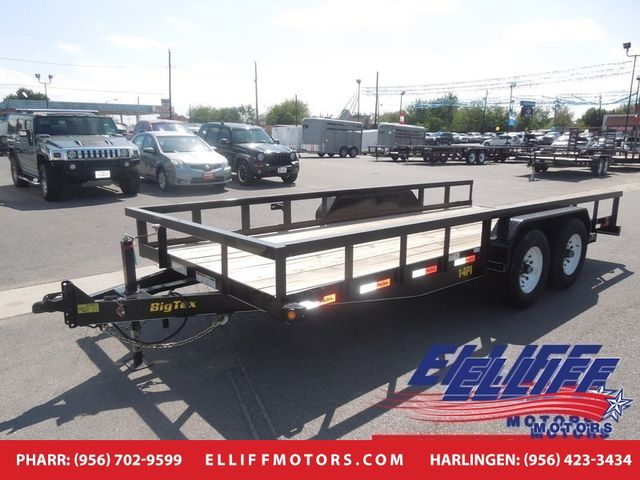2019 Big Tex 14PI 20FT Heavy Duty Pipe Tandem Axle