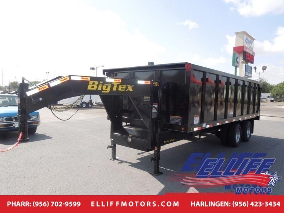2018 Big Tex 25DU Tandem Dual Gooseneck Dump | Harlingen TX