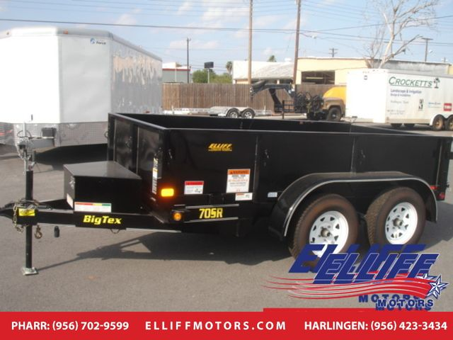2018 Big Tex 70SR Tandem Axle Single Ram Dump