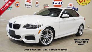 2016 BMW 228i Coupe SUNROOF,M SPORT PKG,PREMIUM PKG,HTD LTH,22K in Carrollton TX, 75006