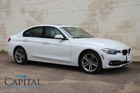 2016 BMW 340xi xDrive AWD Luxury Sedan w/Sport Package, Navigation, Harman/Kardon Audio and LED Headlights in Eau Claire