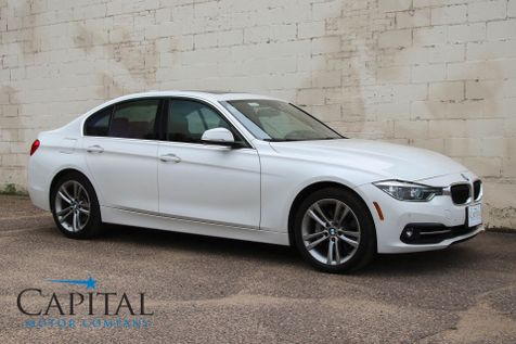 2016 BMW 340xi xDrive AWD Luxury Sedan w/Sport Package, Navigation, Harman/Kardon Audio and LED Headlights in Eau Claire