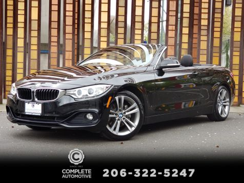 2016 BMW 428i Convertible Sport Driving Assist Cold Weather Premium Packages in Seattle
