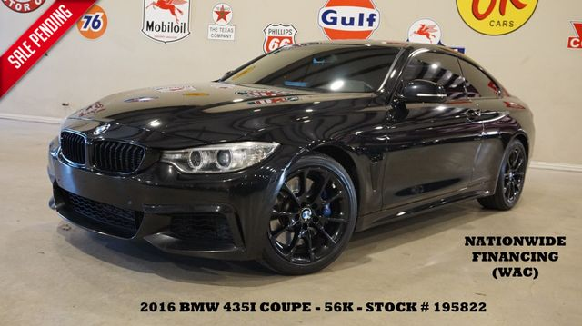 2016 BMW 435i Coupe ROOF,NAV,BACK-UP CAM,LEATHER,BLK WHLS,56K in Carrollton, TX 75006
