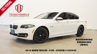 2016 BMW 528i Sedan SUNROOF,NAV,HTD LTH,BLK WHLS,57K,WE FINANCE in Carrollton, TX 75006
