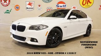 2016 BMW 535i Sedan M SPORT PKG,HUD,SUNROOF,NAV,HTD LTH,60K in Carrollton, TX 75006