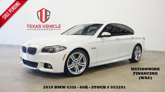2016 BMW 535i Sedan M SPORT PKG,HUD,ROOF,NAV,HTD/COOL LTH,60K in Carrollton, TX 75006