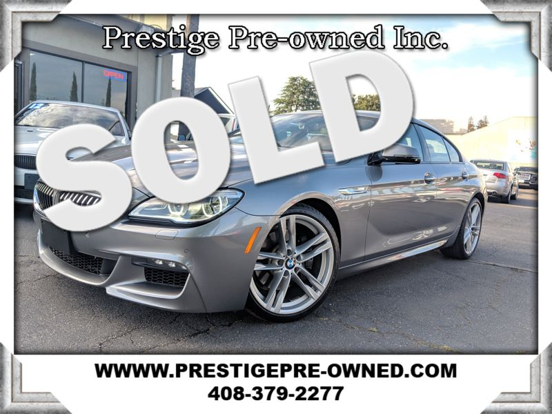 2016 BMW 640i GRAN COUPE ((**ORIGINAL MSRP $86,395**))  in Campbell CA