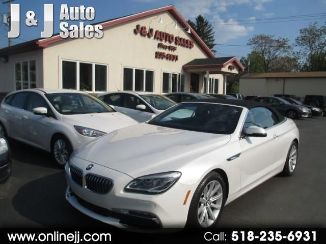 2016 BMW 640i 640i Convertible in Troy, NY 12182