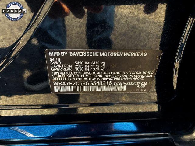 2016 BMW 740i 740i Madison, NC 45