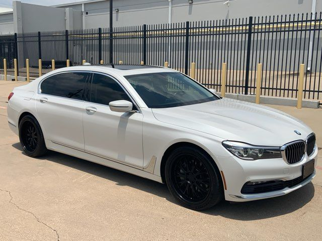 2016 BMW 740i 1-OWNER * Pano Roof * 20s * NAVI * Clean Carfax *