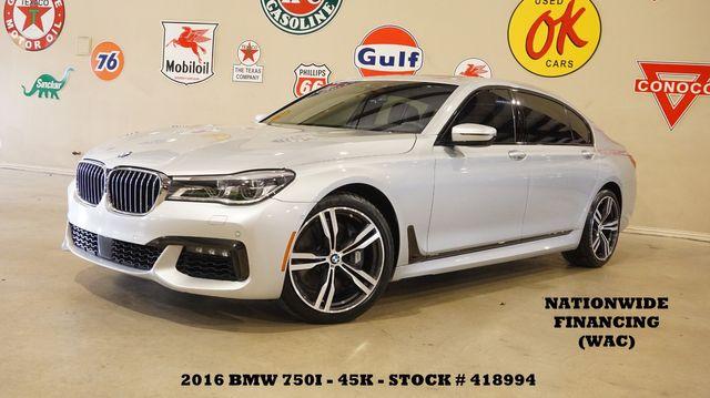 2016 BMW 750i xDrive NIGHT VISION,HUD,PANO ROOF,360 CAM,REAR DVD,45K in Carrollton, TX 75006