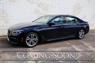2016 BMW 750xi xDrive AWD V8 Executive Sedan w/M-Sport Pkg, Driver Assist & Executive 2 Pkgs and 2-Tone Int in Eau Claire, Wisconsin 54703