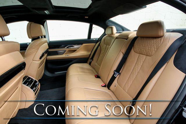 2016 BMW 750xi xDrive AWD V8 Executive Sedan w/M-Sport Pkg, Driver Assist & Executive 2 Pkgs and 2-Tone Int in Eau Claire, Wisconsin 54703