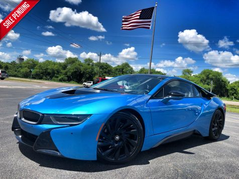 2016 BMW i8 MEGA WORLD PROTONIC BLUE i8 MEGA WORLD PROTONIC BLUE/IVORY LEATHER in , Florida