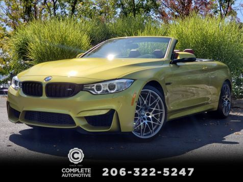 2016 BMW M4 Convertible 6-Speed M Competition Executive Driving Assistance in Seattle