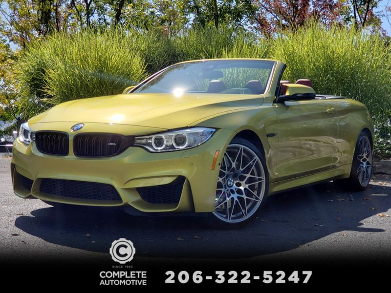 2016 BMW M4 Convertible 6-Speed M Competition Executive Driving Assistance  city Washington  Complete Automotive  in Seattle, Washington