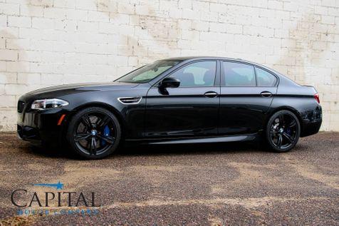 2016 BMW M5 575-HP V8 Sport Sedan w/Competition Pkg, Executive Pkg, Driver Assist Pkg & Black 20