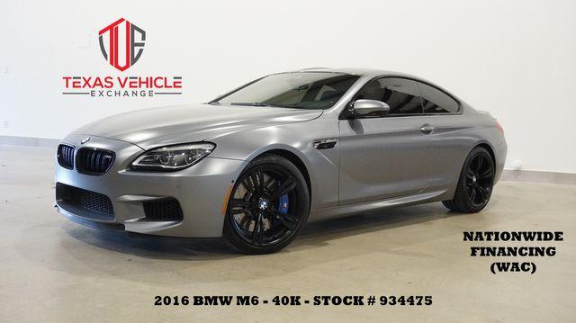 2016 BMW M6 Coupe HUD,NAV,SIDE&TOP CAM,HTD/COOL LTH,20'S,40K